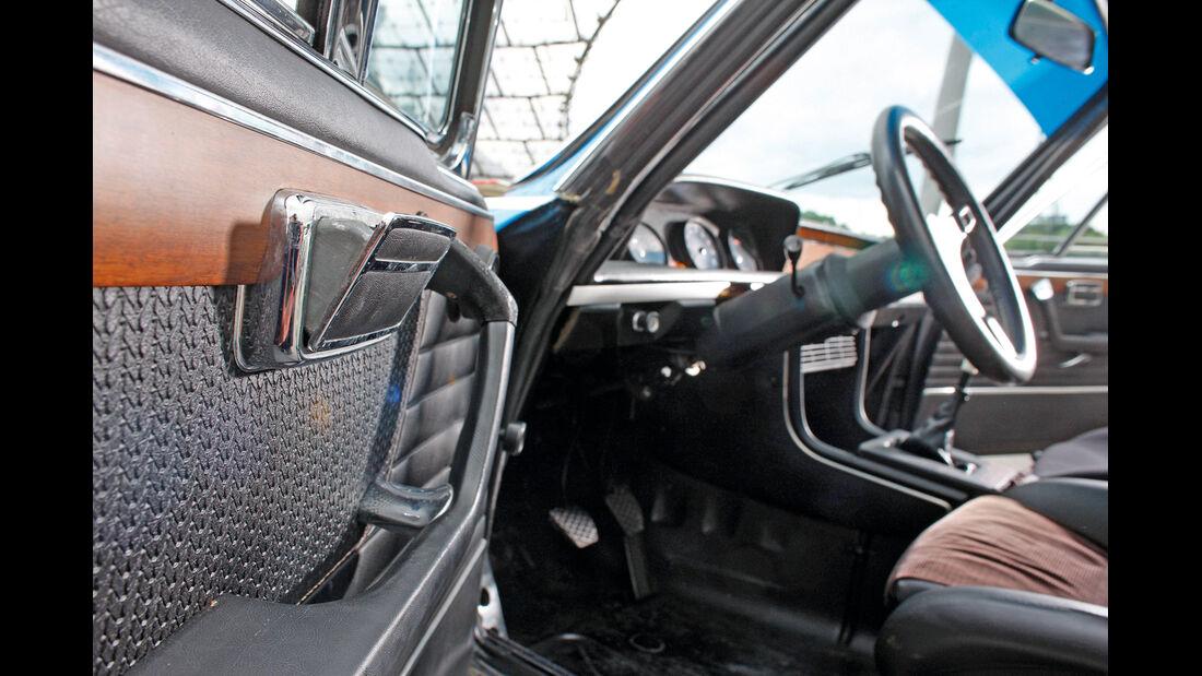 BMW 3.0 CSL, Cockpit, Lenkrad