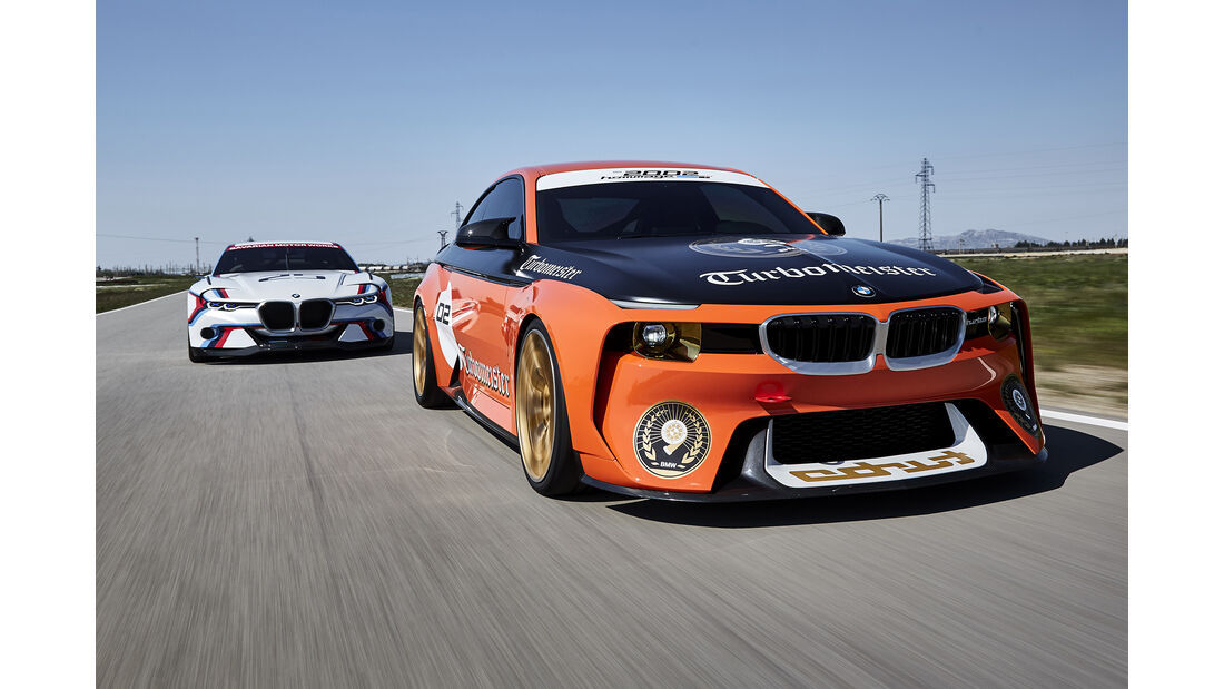 BMW 3.0 CSL Hommage, BMW 2002 Turbomeister Hommage, Exterieur
