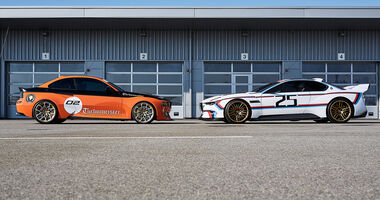 BMW 3.0 CSL Hommage, BMW 2002 Turbomeister Hommage, Exterieur
