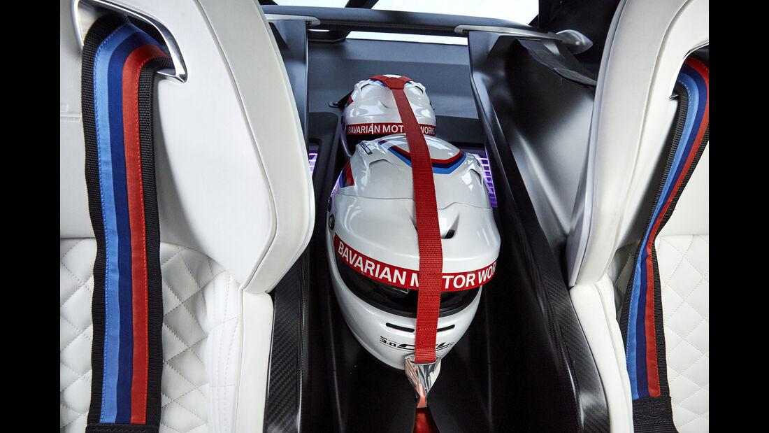 BMW 3.0 CSL Hommage, Interieur