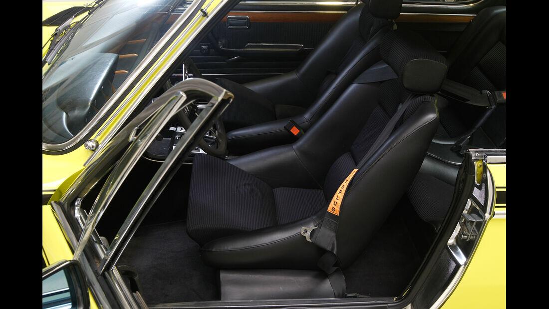 BMW 3.0 CSL, Innenraum, Sitz