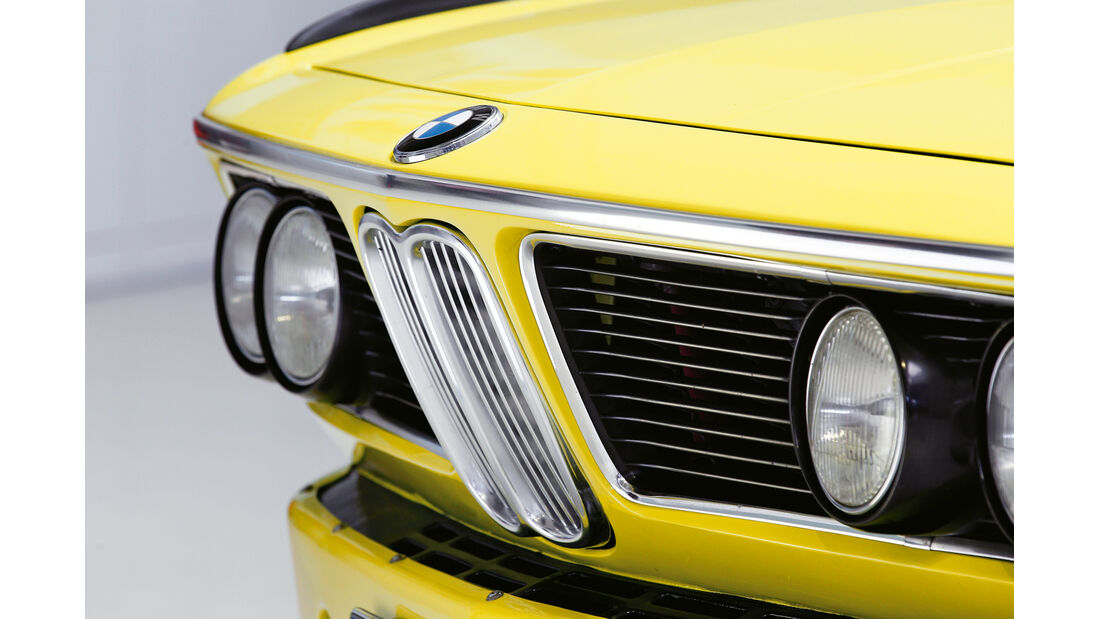 BMW 3.0 CSL, Kühlergrill, Front