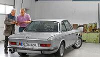 BMW 3.0 CSi (E9), Heckansicht
