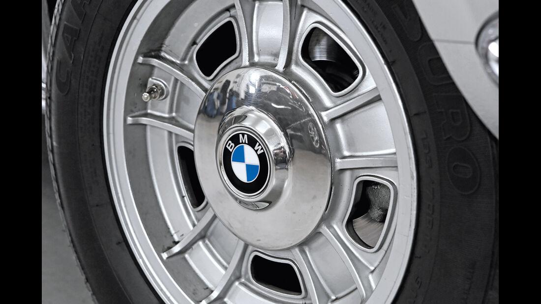 BMW 3.0 CSi (E9), Radkappe