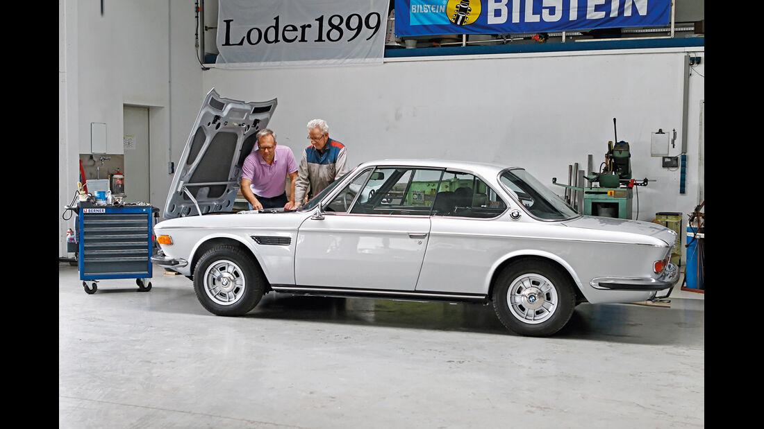 BMW 3.0 CSi (E9), Seitenansicht