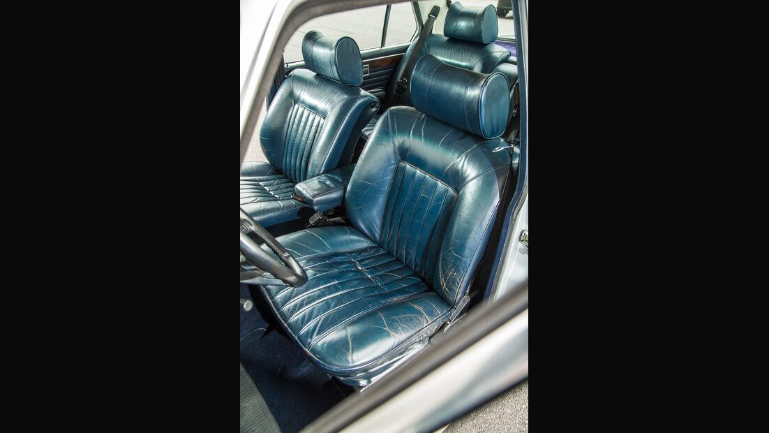 BMW 3.3 Li, Fahrersitz