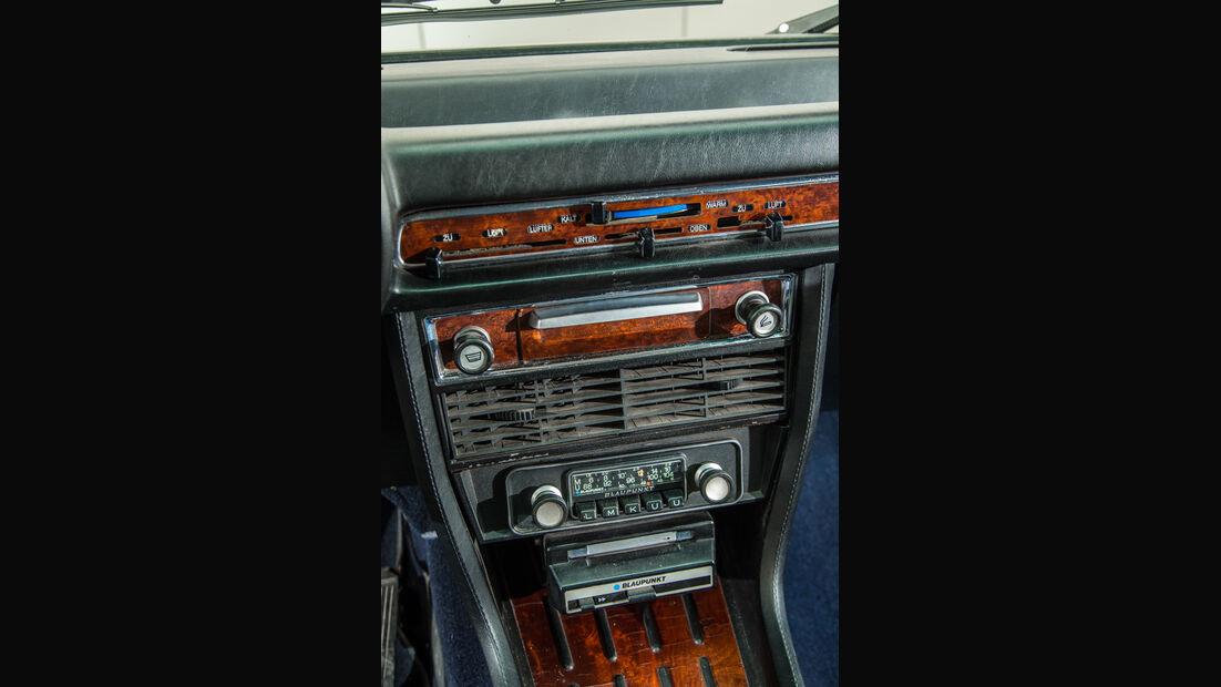 BMW 3.3 Li, Mittelkonsole