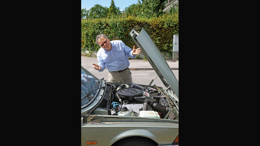 BMW 315, Motorhaube