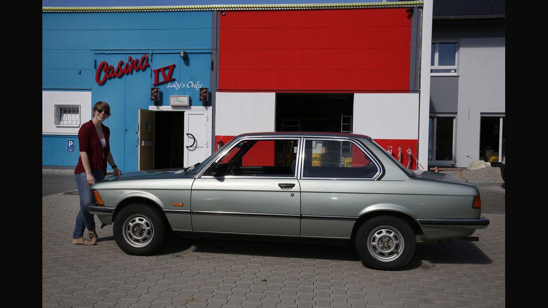 BMW 315, Seitenansicht