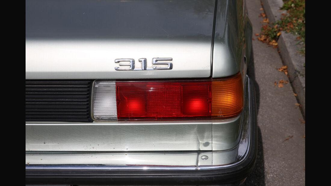 BMW 315, Typenbezeichnung