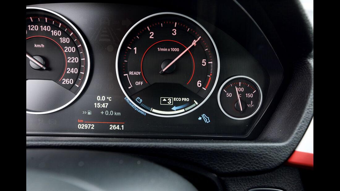 BMW 316d, Rundinstrumente