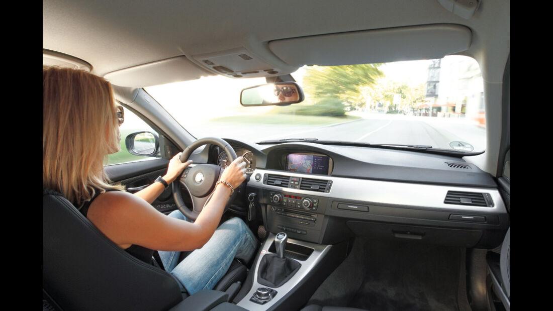 BMW 316d Touring, Cockpit