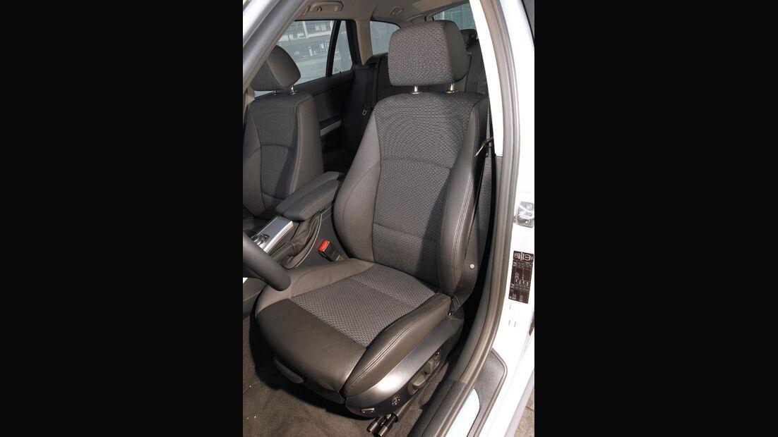 BMW 316d Touring, Fahrersitz