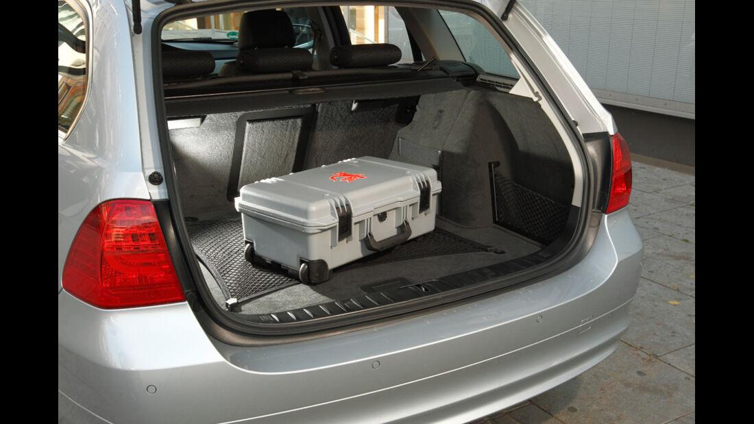 BMW 316d Touring, Kofferraum