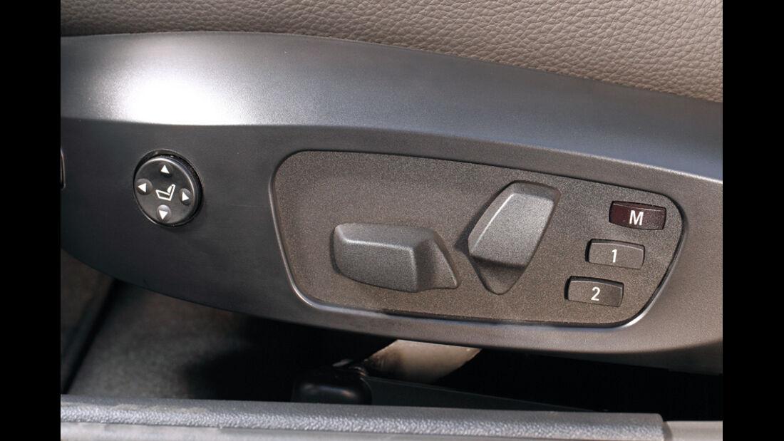 BMW 316d Touring, Schalter