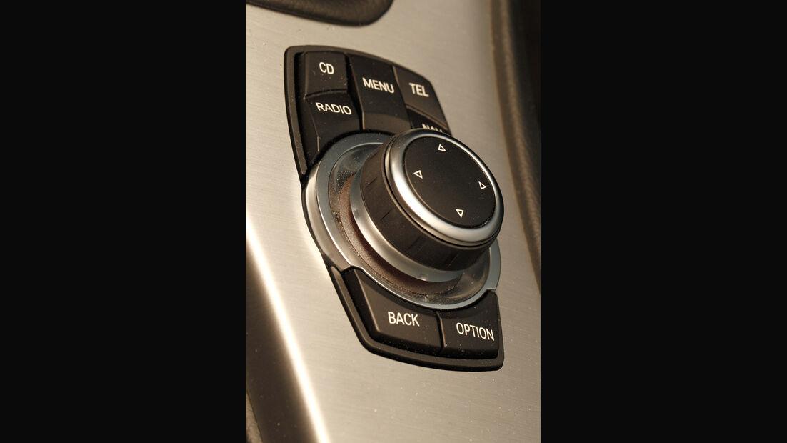 BMW 316d Touring, Schaltzentrale