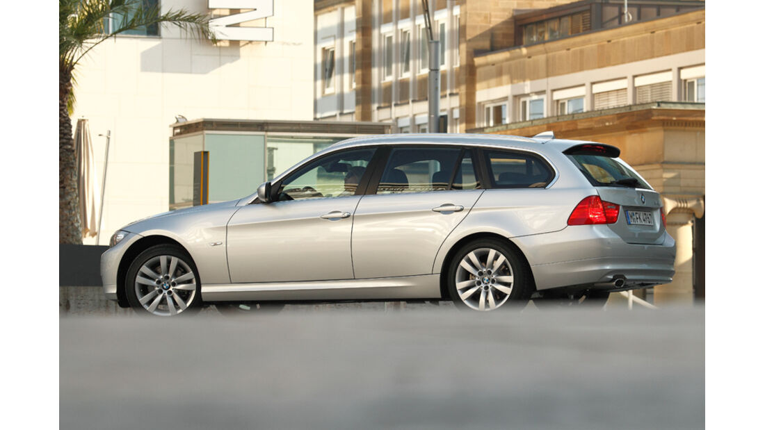 BMW 316d Touring, Seitenansicht
