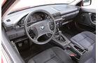 BMW 316i, Cockpit, Lenkrad
