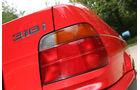 BMW 316i, Heckleuchte, Typenbezeichnung