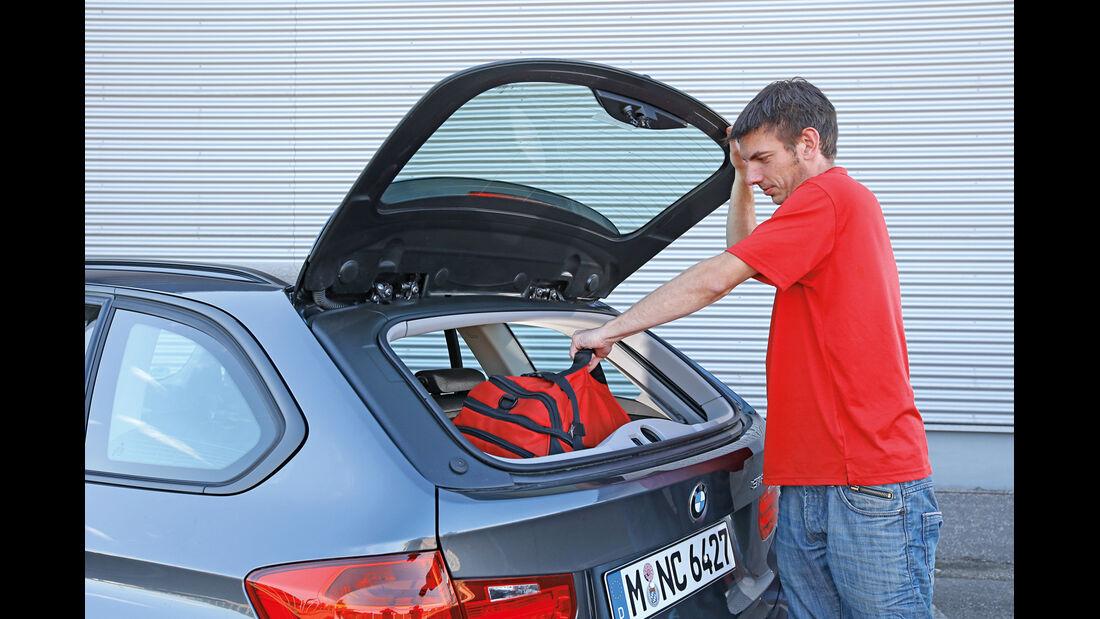 BMW 316i Touring, Beladen