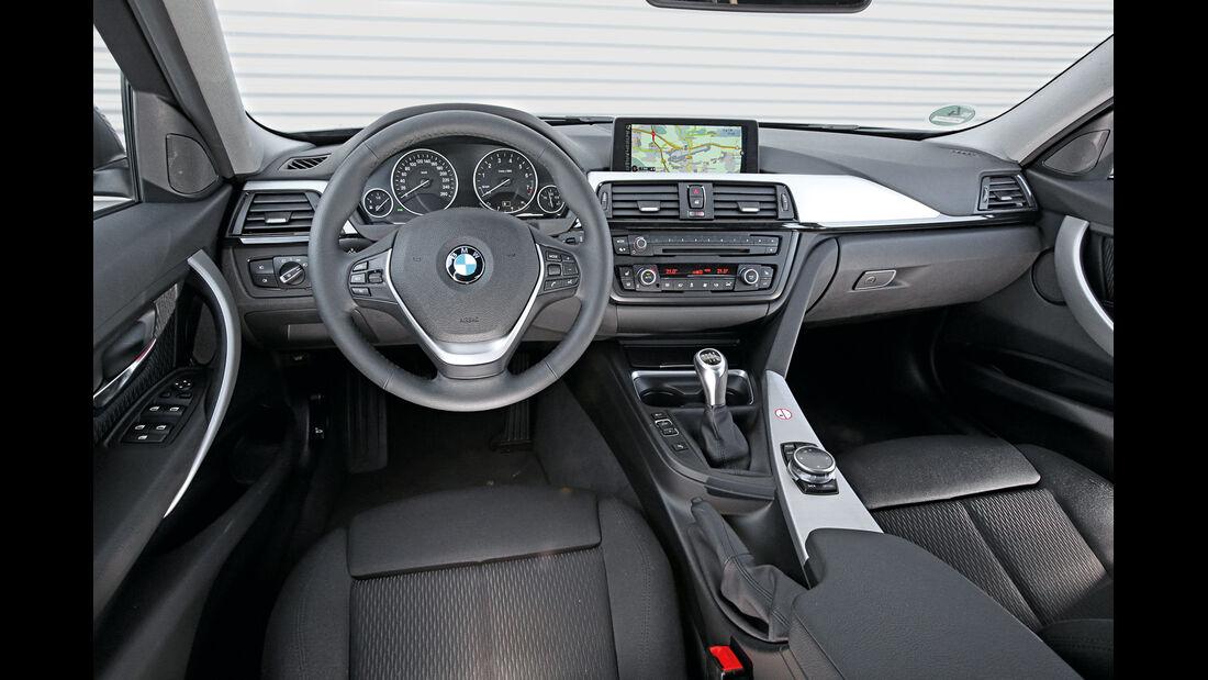 BMW 316i Touring, Cockpit