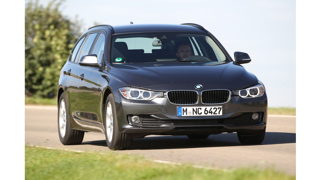 BMW 316i Touring, Frontansicht