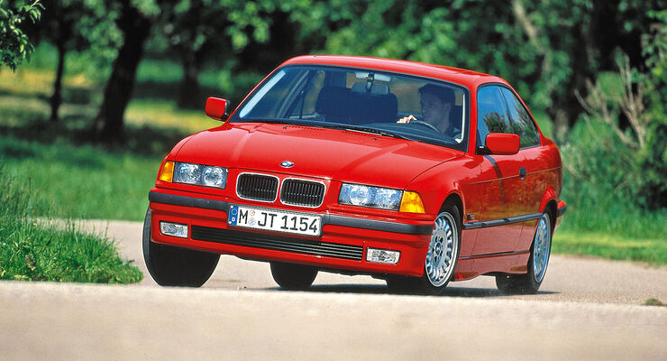 BMW 318 iS (E36), Frontansicht
