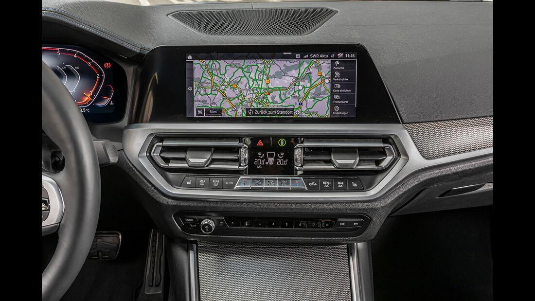 BMW 318d, Interieur