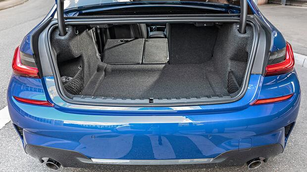 BMW 318d, Kofferraum