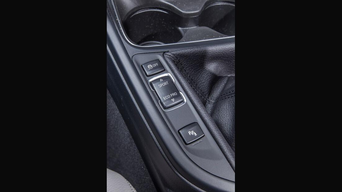BMW 318d Touring, Bedienelemente