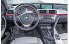 BMW 318d Touring, Cockpit, Lenkrad