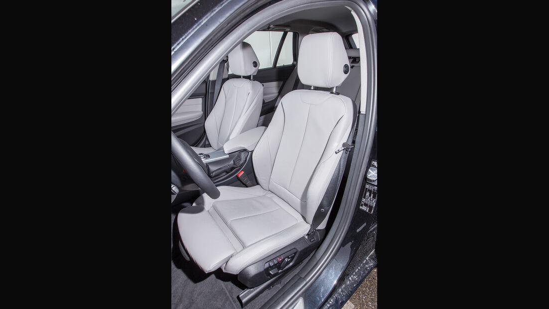BMW 318d Touring, Fahrersitz