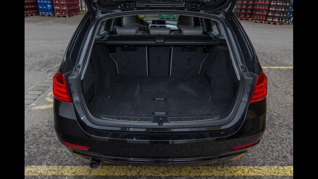BMW 318d Touring, Kofferraum
