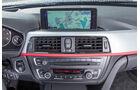BMW 318d Touring, Navi, Bildschirm