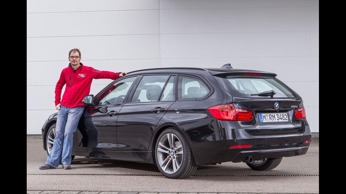 BMW 318d Touring, Seitenansicht