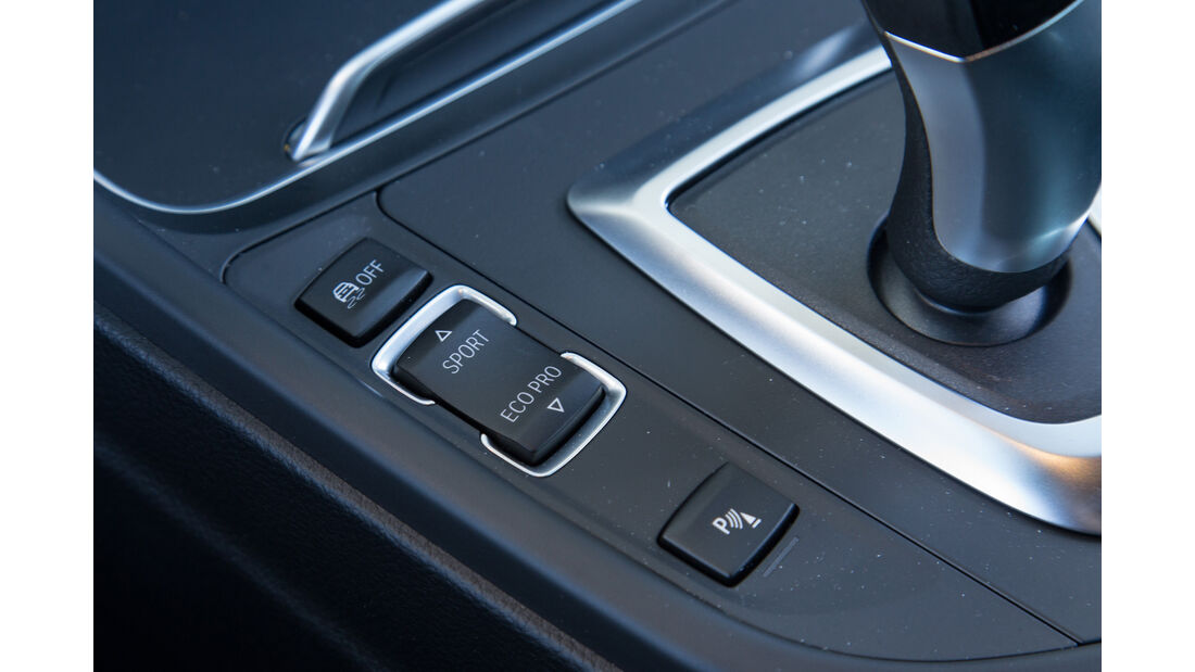 BMW 318i, Bedienelemente