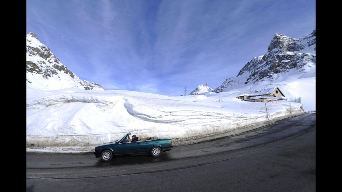 BMW 318i Cabriolet Seitenansicht