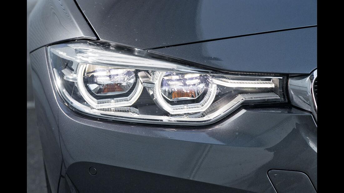 BMW 318i, Frontscheinwerfer