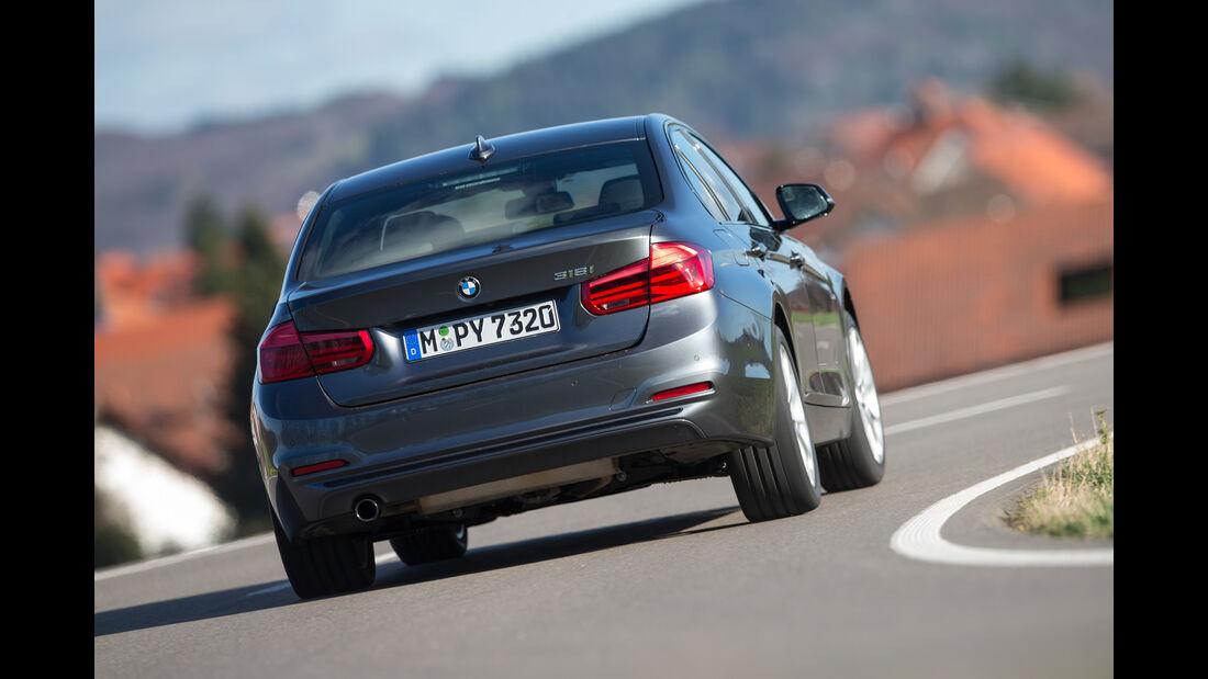 BMW 318i, Heckanansicht