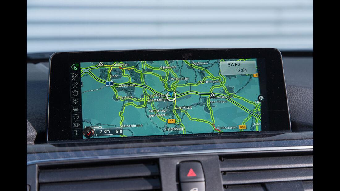 BMW 318i, Navi, Monitor