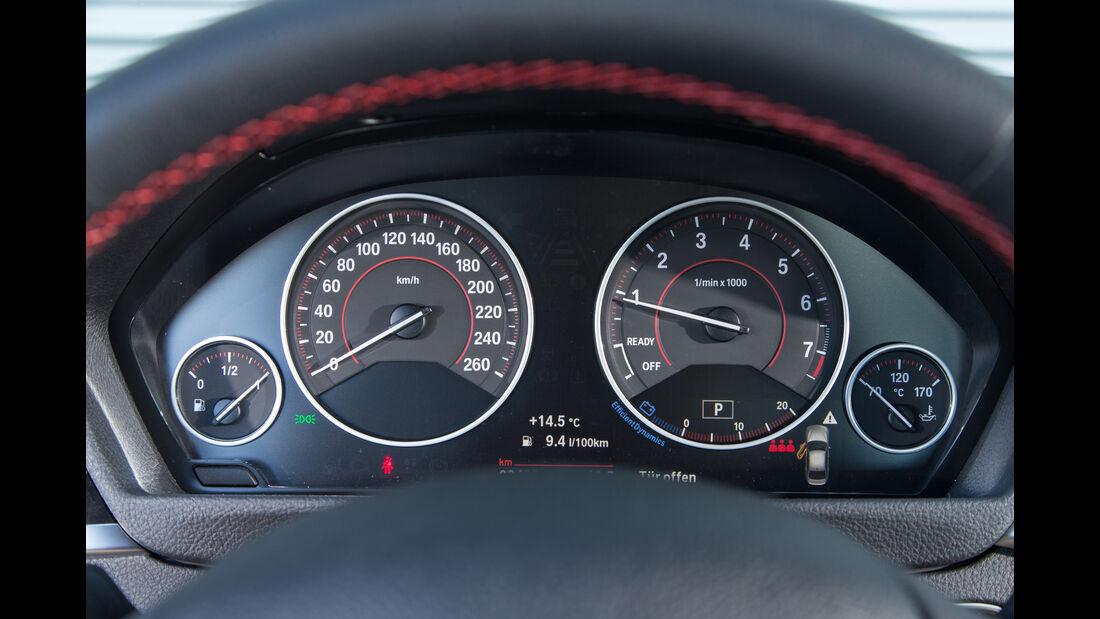 BMW 318i, Rundinstrumente