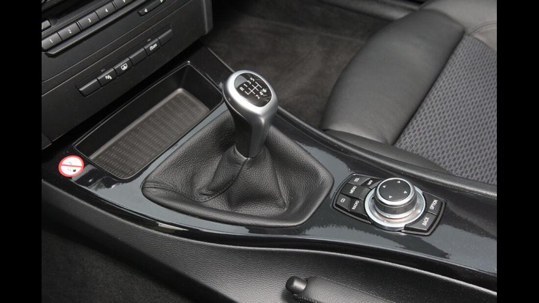 BMW 318i, Schalthebel