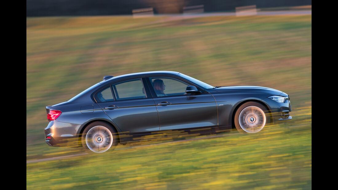 BMW 318i, Seitenansicht