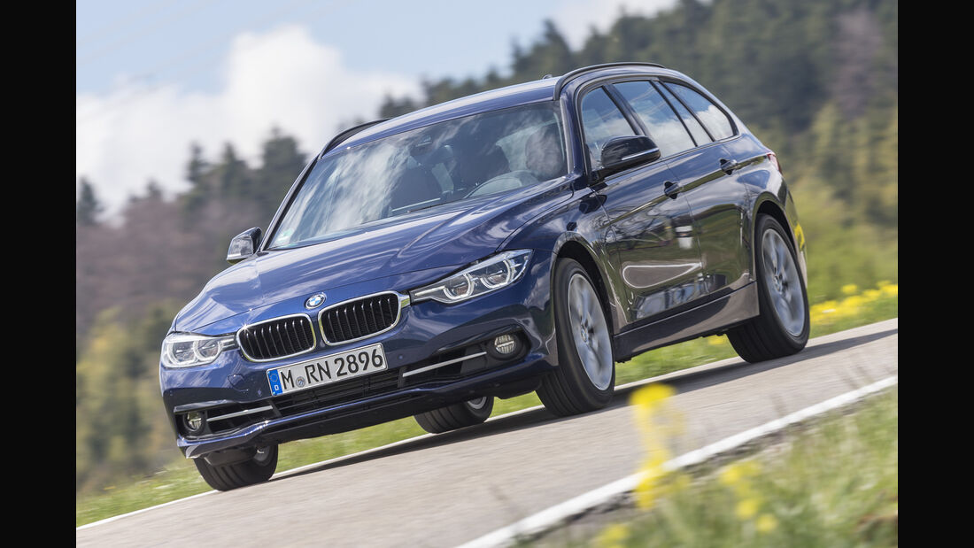 BMW 318i Touring Front
