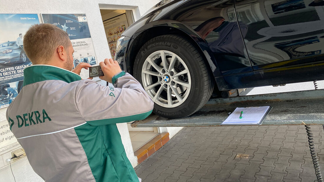 BMW 318i Touring Leasing Rückgabe Dekra Check