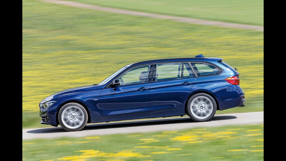 BMW 318i Touring Seitenansicht