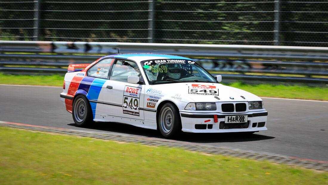 BMW 318iS - Startnummer #549 - V2 - NLS 2020 - Langstreckenmeisterschaft - Nürburgring - Nordschleife