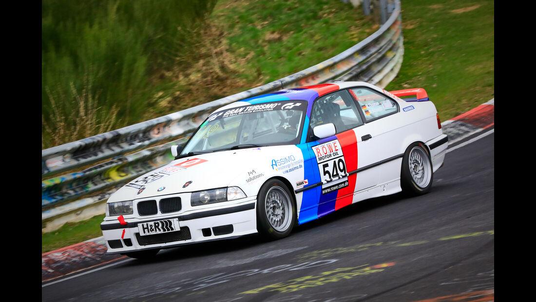 BMW 318is - Startnummer #549 - V2 - VLN 2019 - Langstreckenmeisterschaft - Nürburgring - Nordschleife