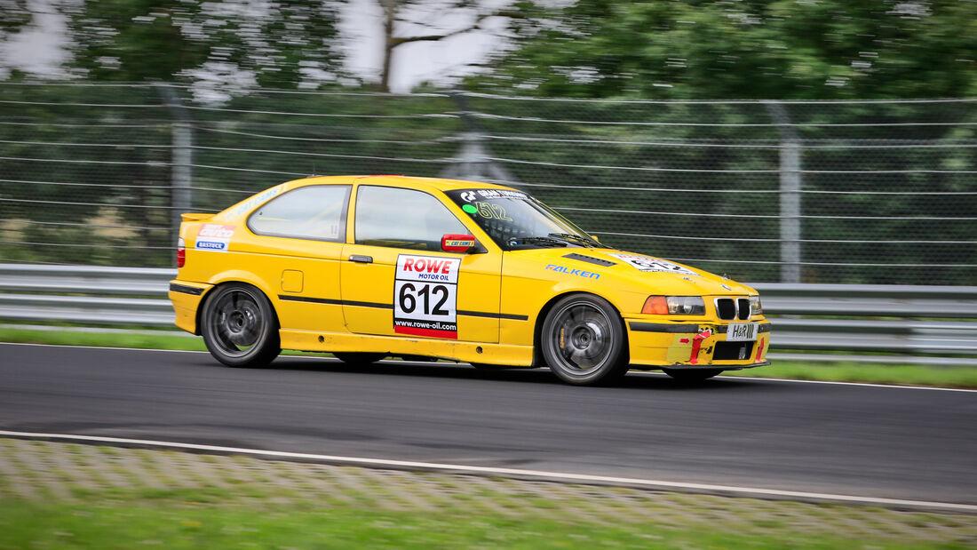 BMW 318ti - Startnummer #612 - Nationale Autoclub Excelsior - H2 - NLS 2021 - Langstreckenmeisterschaft - Nürburgring - Nordschleife
