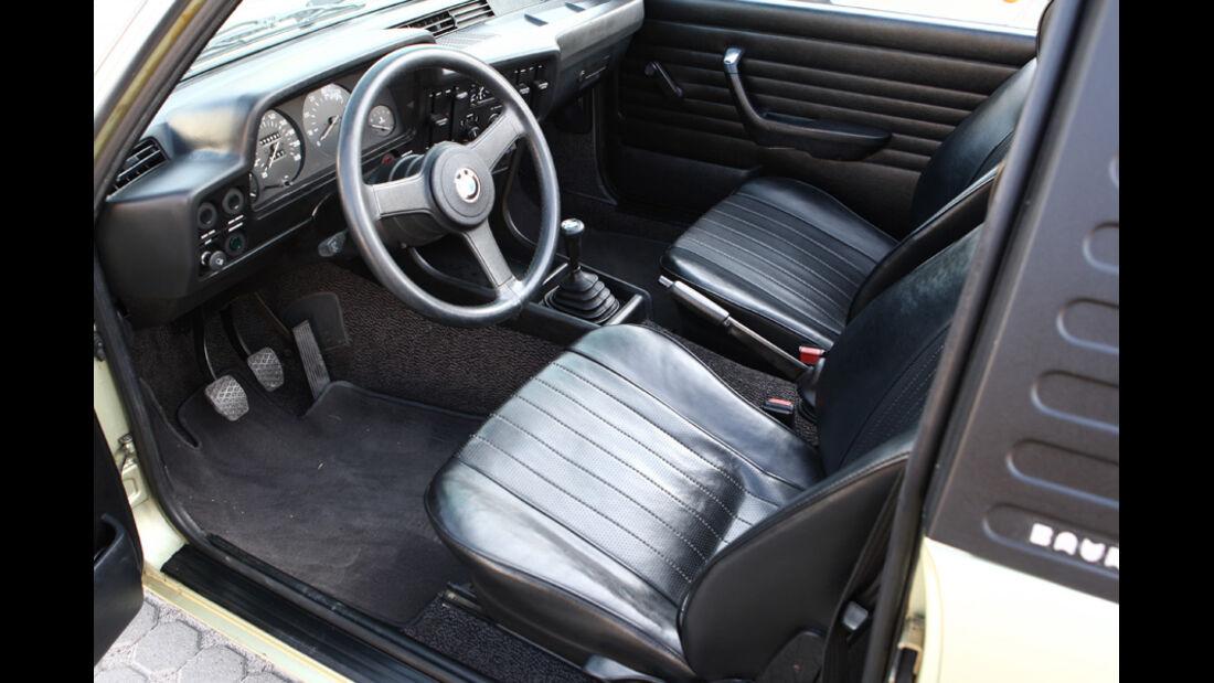 BMW 320 Baur Topcabriolet (TC1), Baujahr 1979, Innenraum